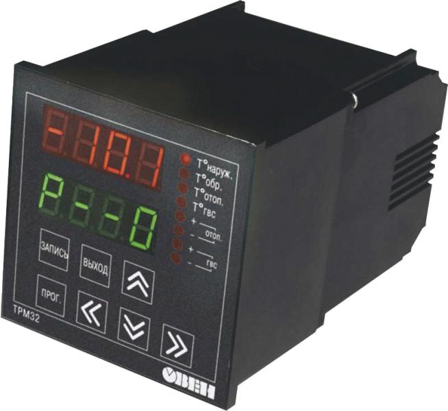 Контроллер для управления системами отопления и горячего водоснабжения  ТРМ32